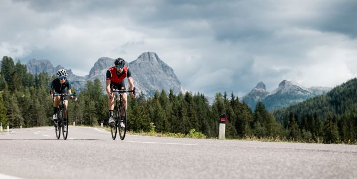 Road bike Alta Badia